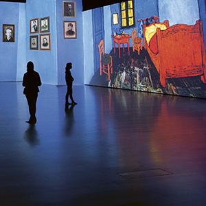Van Gogh proyecta su arte en el Círculo de Bellas Artes