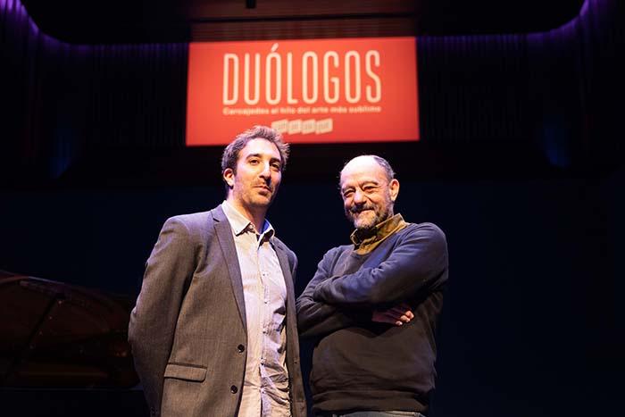 Daniel Broncano Javier Cansado - Broncano inicia los Duólogos para entender el arte en Conde Duque