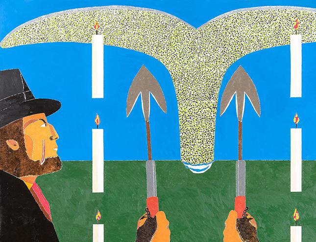 La obra de Eduardo Arroyo se expone en el Botánico