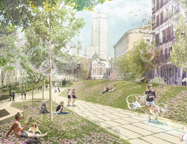 Las obras de la nueva Plaza de España comienzan en febrero