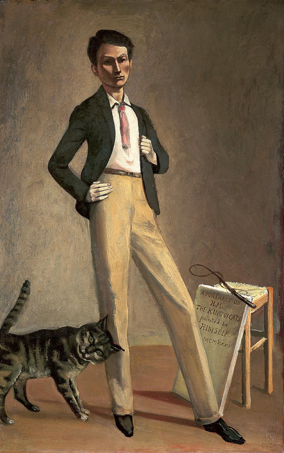 El rey de los gatos GRND copia - Balthus: clásico y moderno, amado y odiado.