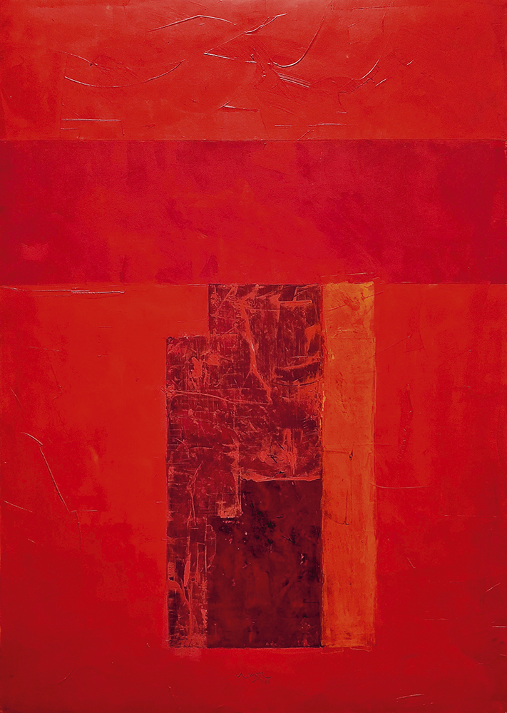 Sin título, de Juan Lecuona. Galería Jorge Mara - La Ruche.