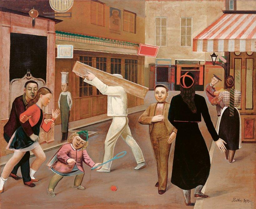balthus rue - Balthus: clásico y moderno, amado y odiado.