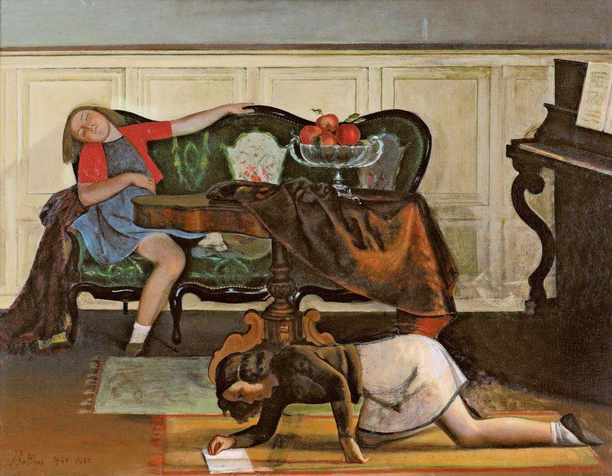 balthus salon - Balthus: clásico y moderno, amado y odiado.