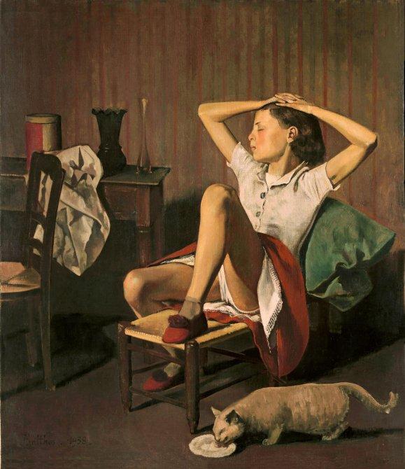 balthus therese sonando 0 - Balthus: clásico y moderno, amado y odiado.