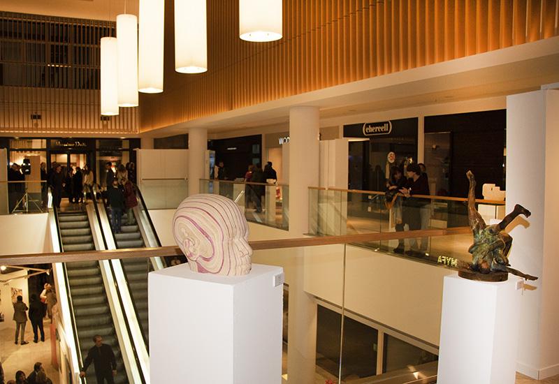 f13 - La feria de arte FLECHA vuelve al Centro Comercial Arturo Soria PLAZA
