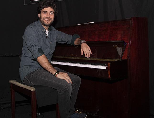 """Gabriel Peso: """"Elegí el Jazz porque desde niño vivo improvisando"""""""