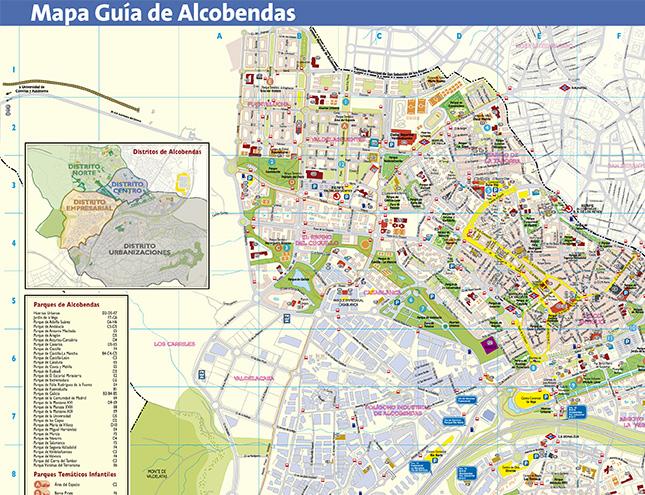 El Ayuntamiento de Alcobendas actualiza su mapa callejero
