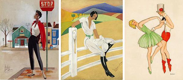"""3.2 - """"Dibujantas"""", pioneras de la ilustración"""