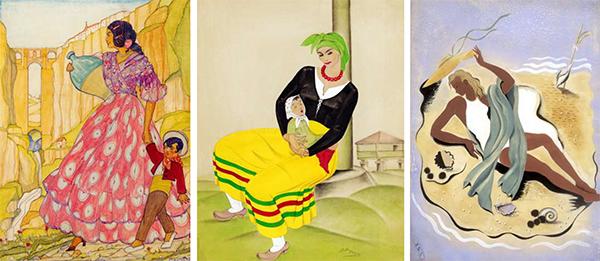 """3.3 - """"Dibujantas"""", pioneras de la ilustración"""