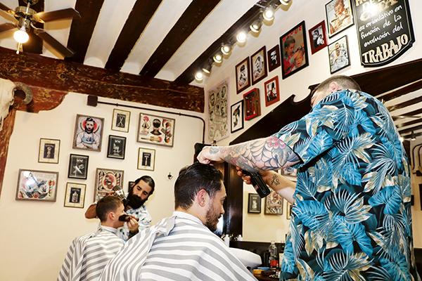 farran barberscrew04 - 4 sitios chulos de Madrid y 1 artista Pop