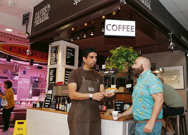 farran cafesTornasol01 - 4 sitios chulos de Madrid y 1 artista Pop