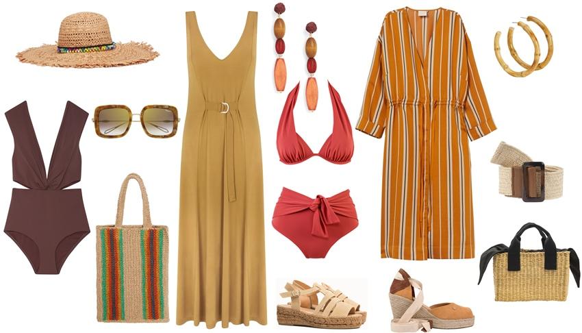 1z - Moda: Un verano en tonos tierra