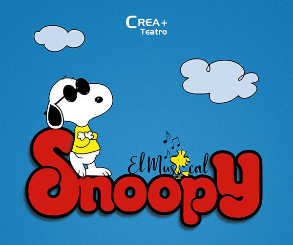 Snoopy Cartel - La felicidad o el musical de Snoopy sobre las tablas de Teatros Luchana