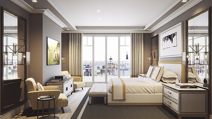 Habitaci¦n - El macro proyecto que convertirá Madrid en una ciudad más elegante