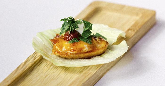 Medea saam coreano con aliño mexicano - Tres cocinas recomendadas. Restaurantes de Madrid