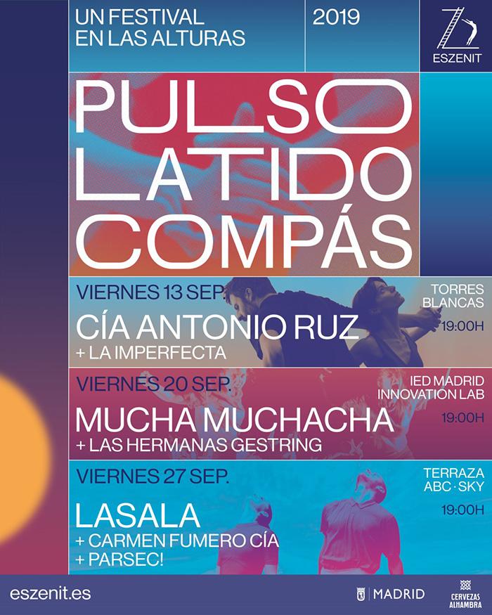 cartel EsZENIT1 - 3 escenarios para tocar la noche madrileña