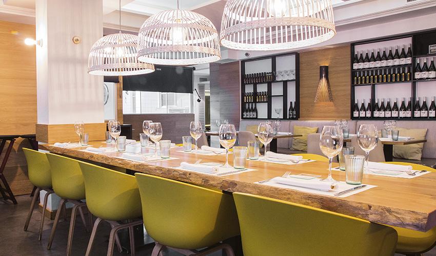 Tres cocinas recomendadas. Restaurantes de Madrid