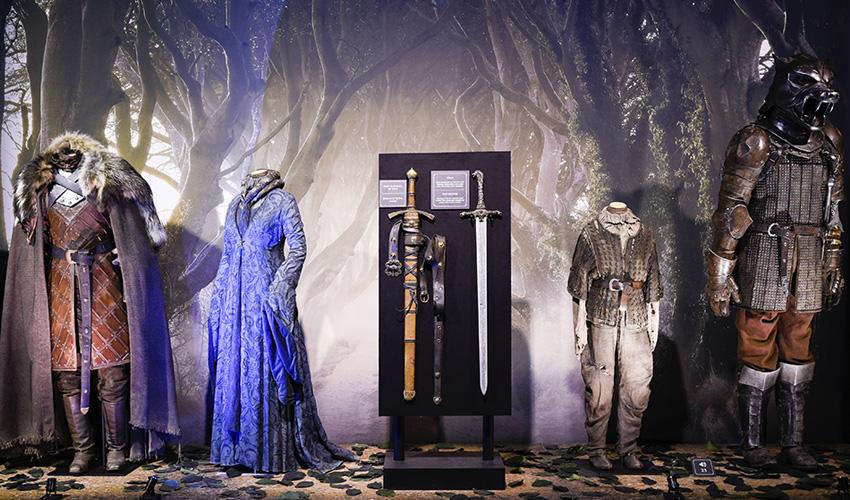 Los escenarios y vestuarios originales de Juego de Tronos están en Madrid