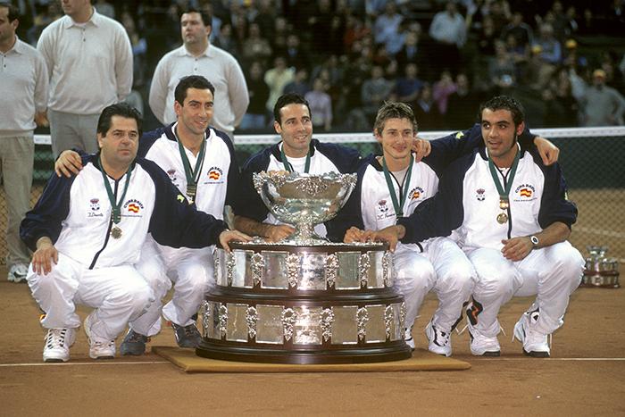 12. SPAIN 2000 - Comienza la Copa Davis en Madrid