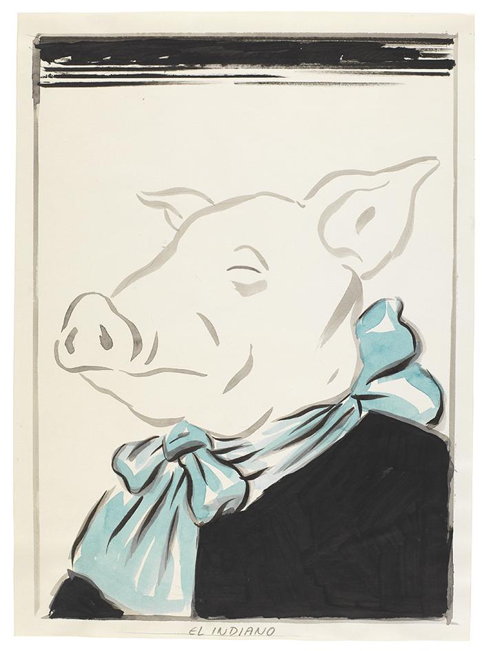 El Indiano. El Roto - 36 dibujos de El Roto para dialogar con Goya y la historia