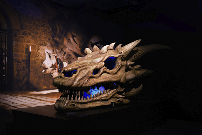 GOT Exhibition Dragon Skull v1 current 1 - Decorados y vestuarios de Juego de Tronos en IFEMA