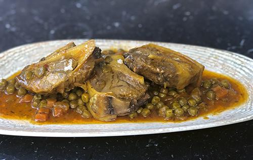 Rabo de atún del restaurante De Atún. - Algunos de los mejores platos de invierno de Madrid