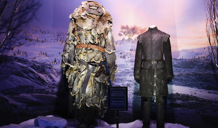 Decorados y vestuarios de Juego de Tronos en IFEMA