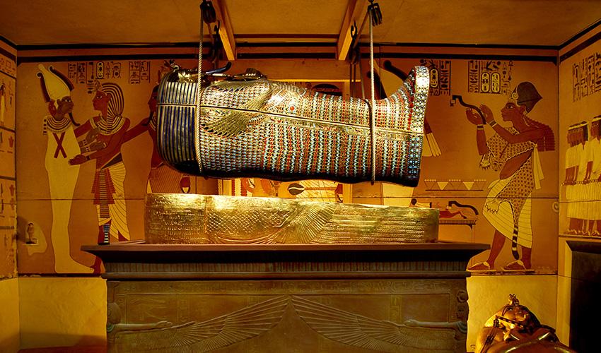 Descubre la tumba de Tutankamon en Madrid