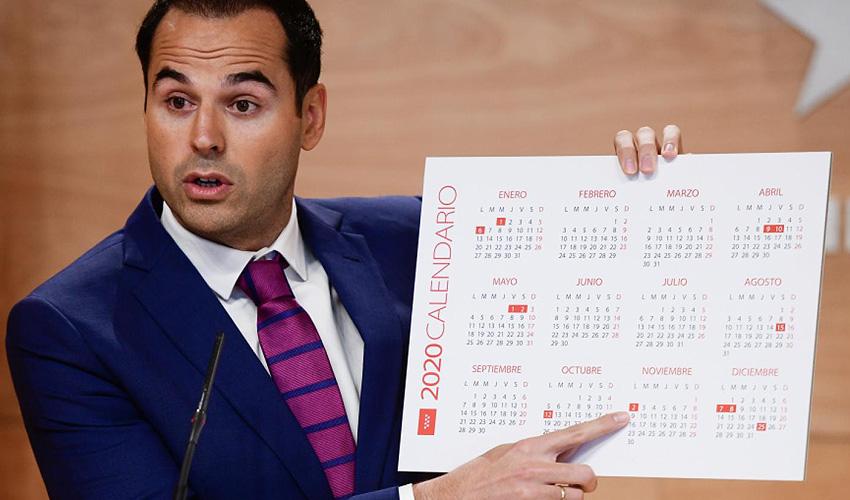 12 días festivos en 2020 en la Comunidad de Madrid