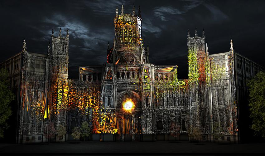 El Ayuntamiento de Madrid se convertirá en un escenario alucinante para celebrar la Navidad