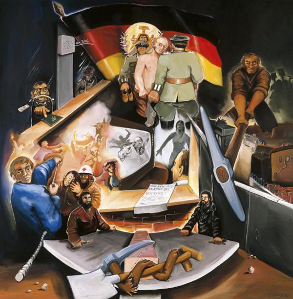 14 2 - Jörg Immendorff, el artista que quería modificar la realidad