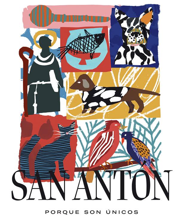 cartel san antón 2020 - Fiestas de San Antón 2020. Programa completo