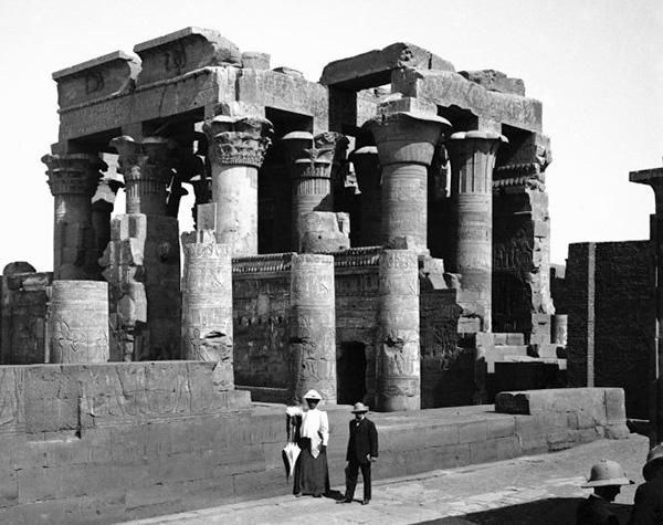 destacado expo 1 - Expo fotos: El viaje a Egipto  en 1909 del chocolatero barcelonés