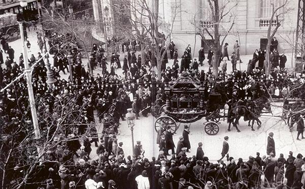 entierro Galdós II - Galdós: el mejor cronista de Madrid