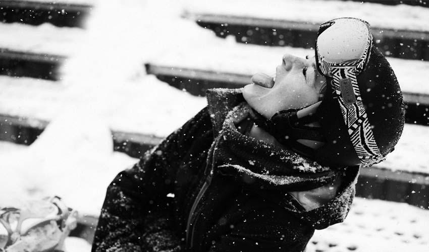 Lo último para molar bajo la nieve