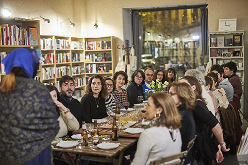 Cervantres y companZia de libros cena con Jane Austen01 - Gastrofestival: 400 establecimientos de Madrid se ponen muy foodies