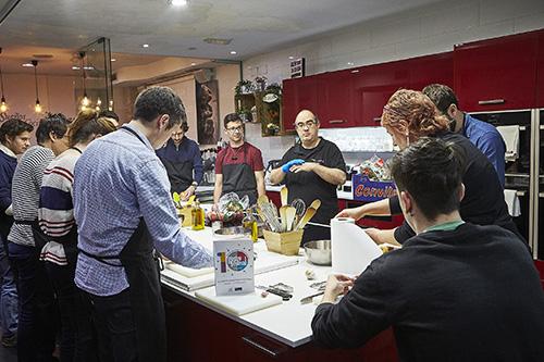 Escuelas de cocina Sue§os de cocina02 - Gastrofestival: 400 establecimientos de Madrid se ponen muy foodies