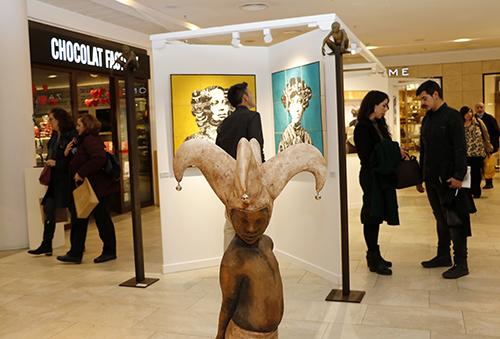 MG 3844 - FLECHA expone obras de Dalí y Antonio López en el C.C. Arturo Soria Plaza