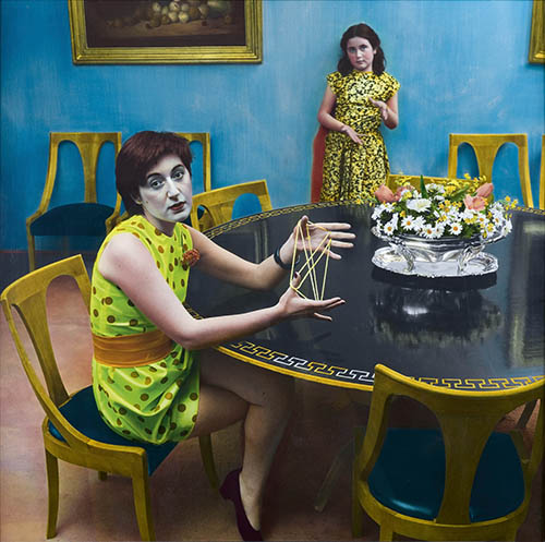 OUKA LEELE. SOBRE LA DIALECTICA PERO EN VERDE CHILLÓN.1982 - Alcobendas muestra la mejor colección pública de fotografía
