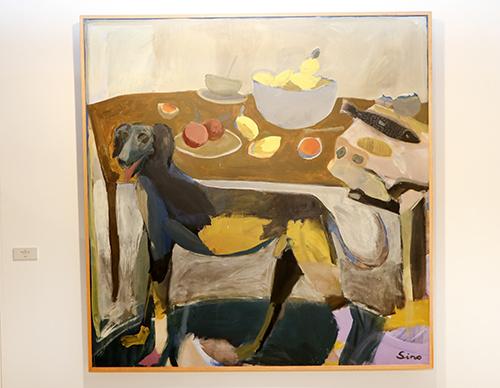 Obra del artista Sino - FLECHA expone obras de Dalí y Antonio López en el C.C. Arturo Soria Plaza