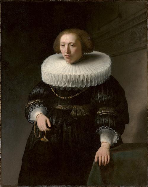 Rembrandt Mujer GRND - Rembrandt retratista en el Thyssen