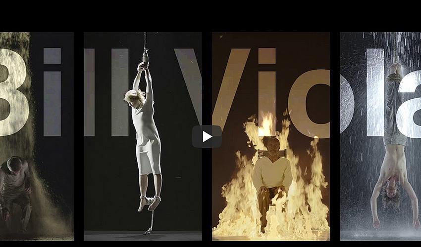 EXPO: El famoso videoartista Bill Viola reflexiona sobre la humanidad
