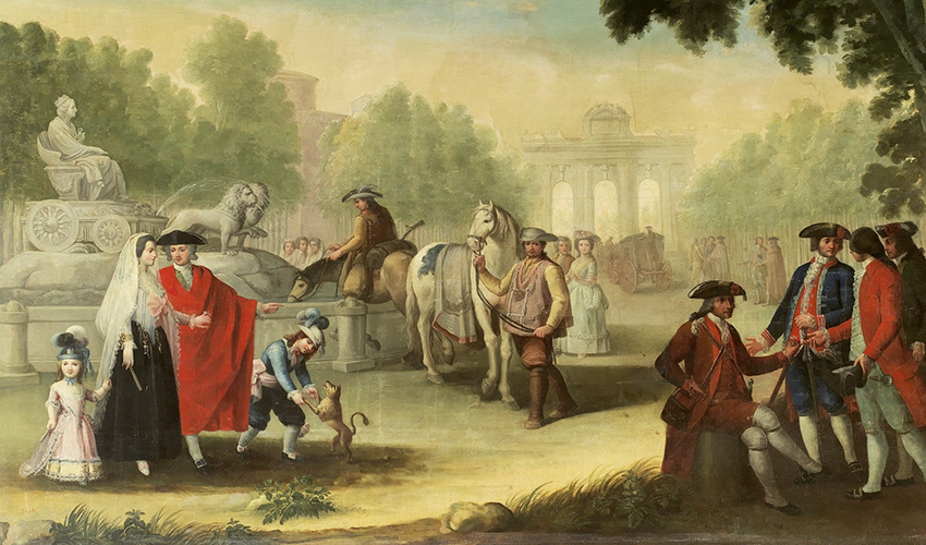 Los leones de la Cibeles son amantes castigados