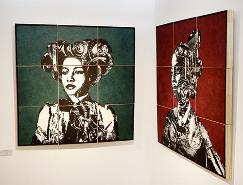 cuadros de Alicia Calvet - FLECHA expone obras de Dalí y Antonio López en el C.C. Arturo Soria Plaza