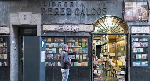 librería perez galdos copia - Reserva tu visita guiada y gratuita por el Madrid de Galdós