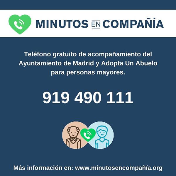 A buena - 100 voluntarios para hablar con abuelos