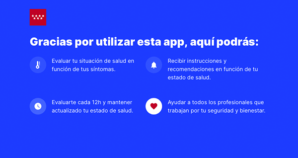 app 02 - Ya puedes utilizar la App de autoevaluación del coronavirus