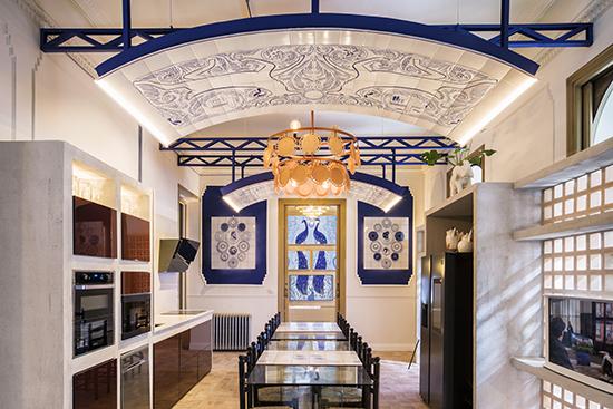casa decor 20 cocina Samsung Guille Garcia Hoz 02 - Casa Decor 2020 apuesta por los materiales orgánicos como tendencia en decoración