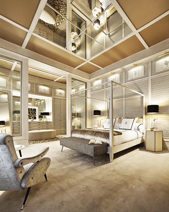 casa decor 20 dormitorio con vestidor roman windows angel verdu 01 - Casa Decor 2020 apuesta por los materiales orgánicos como tendencia en decoración